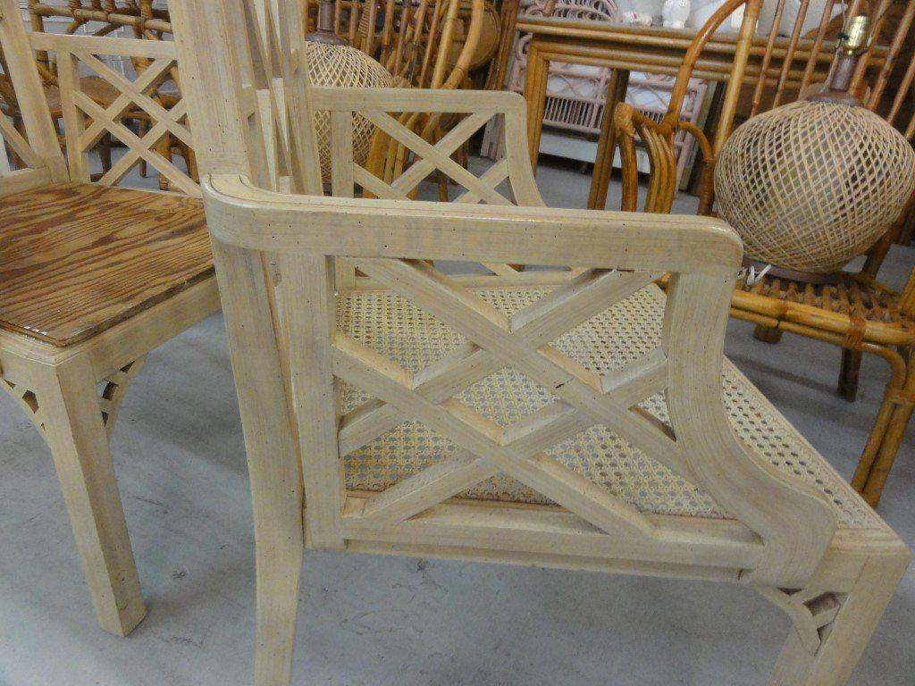 Palm Beach Regency Fretwork Chairs   Set Of 6   Image 4 Of 11