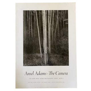 1958 Ansel Adams Aspens, New Mexico Photography Poster For Sale