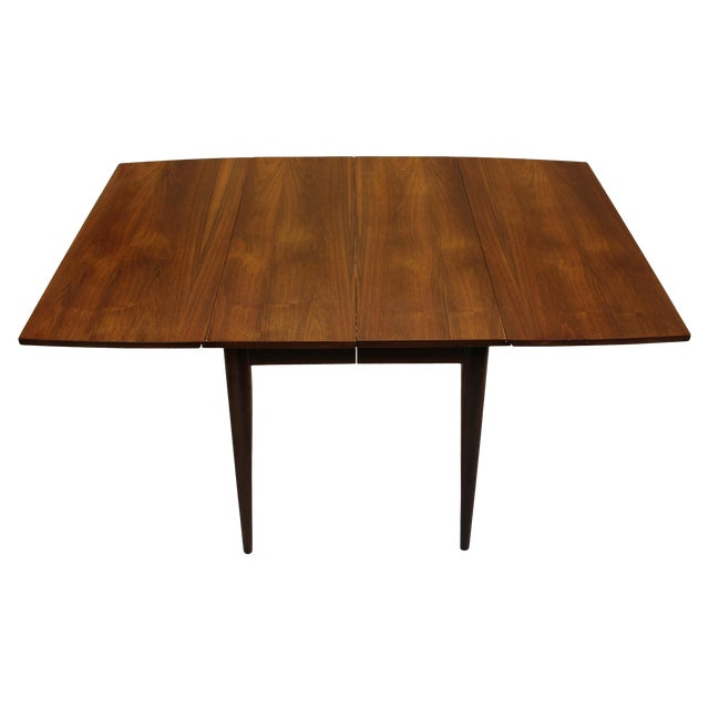 Mid Century Drop Leaf Dining Table, Made by Broyhill