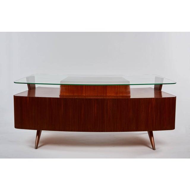 Mid-Century Modern Rare Carlo De Carli Desk For Sale - Image 3 of 11
