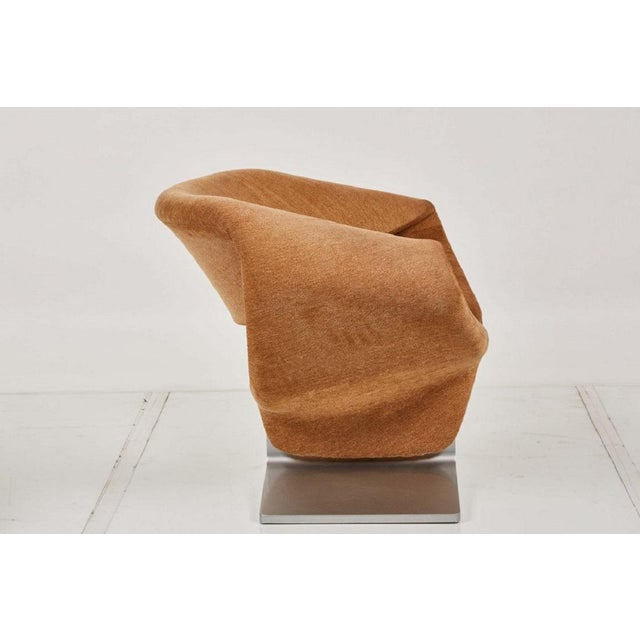 Artifort Ribbon Chair and Matching Ottoman by Pierre Paulin for Artifort For Sale - Image 4 of 7