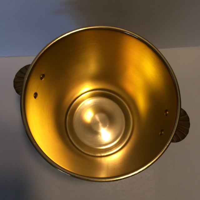 Gloria Ferrer Gold Anodized Aluminum Champagne Bucket For Sale In Sacramento - Image 6 of 11