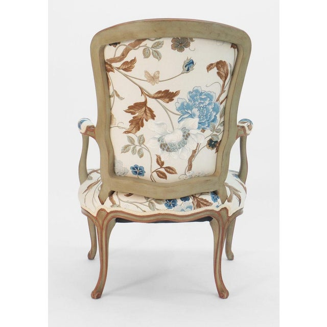 Not Yet Made - Made To Order Cole Porter Louis XV Style Armchair For Sale - Image 5 of 9