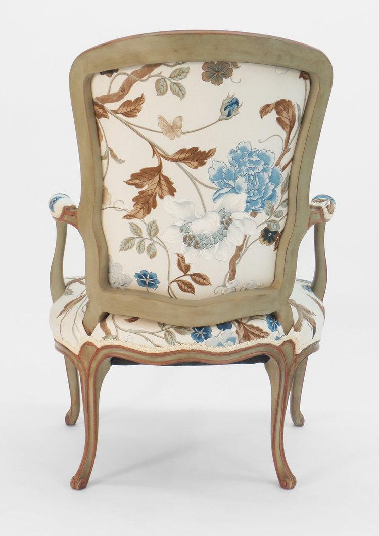 Cole Porter Louis XV Style Armchair   Image 5 Of 9
