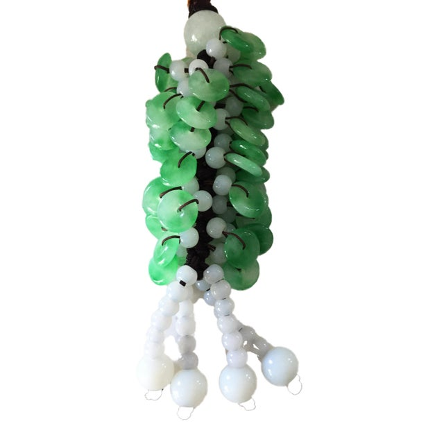 Asian Jade Charm Ornemant for Good Luck For Sale - Image 3 of 4