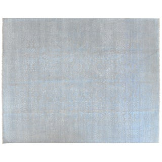 Stark Studio Rugs Contemporary New Oriental 80% Wool/20% Cotton Rug - 7′11″ × 9′11″ For Sale