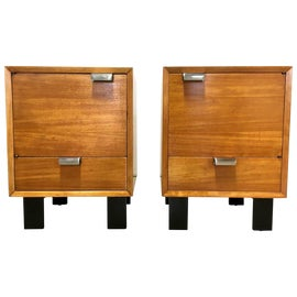 Image of Mahogany Nightstands