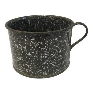 Antique Brown Granite Cup