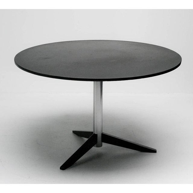 Silver Dining Table Model Te06 in Slate by Martin Visser for 't Spectrum For Sale - Image 8 of 8
