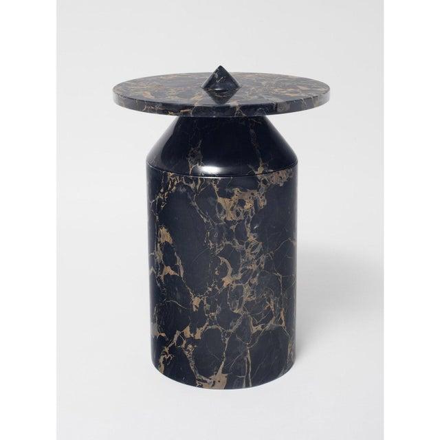 Black Portoro Marble Coffee Table by Karen Chekerdjian For Sale - Image 12 of 13