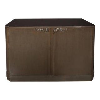 Grey Walnut Sideboard or Cabinet Designed by Lorin Jackson for Grosfeld House For Sale