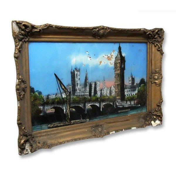 English Traditional Framed Print of London For Sale - Image 3 of 11
