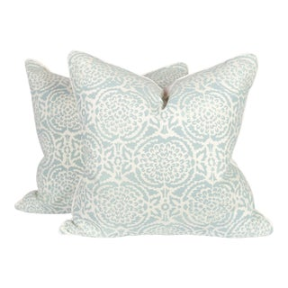 Galbraith and Paul Pomegranate Pillows - A Pair