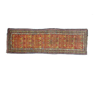 "Leon Banilivi Antique Persian Runner - 3'4"" X 11'"
