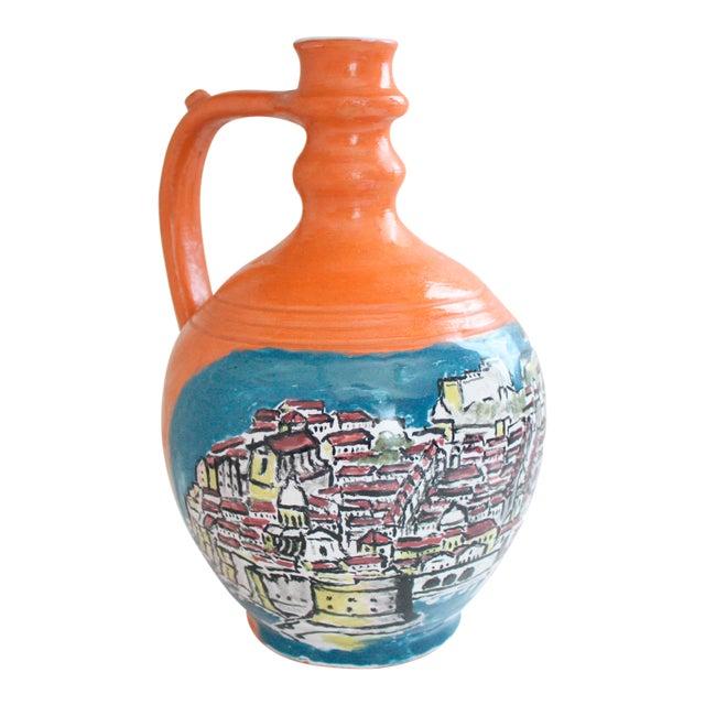Mediterranean Jug Vase - Image 1 of 9