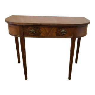 Late 19th Century Federal Style Entry Table / Game Table For Sale