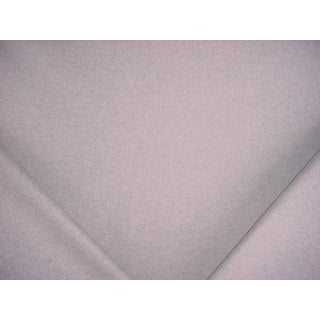 Ralph Lauren Burke Wool Plain Dove Gray Upholstery Fabric - 4 3/8 Yards For Sale