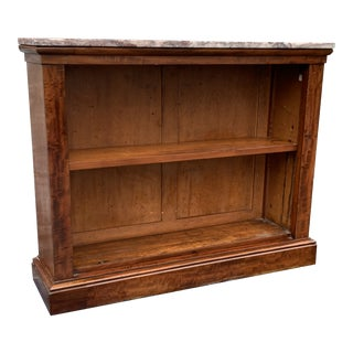 French 19 C Louis Phillip Small Bookcase For Sale