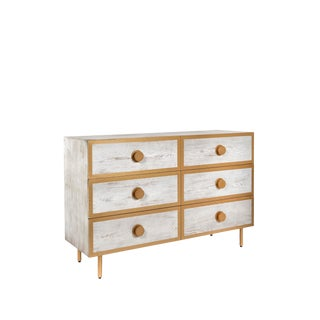 Contemporary St Tropez 6 Drawers Dresser For Sale