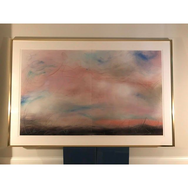 Contemporary Aleah Koury Skyscape Painting For Sale - Image 3 of 11