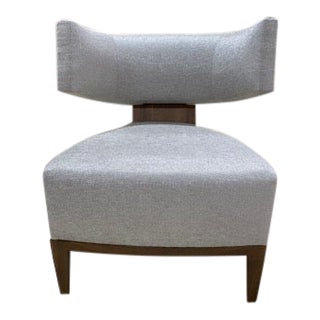 Donghia Egos Gray Chair For Sale