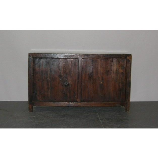 Antique Chinese Light-Green Lacquered Sideboard For Sale In New York - Image 6 of 6