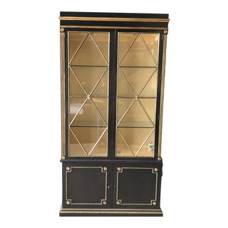 Ej Victor Display Case With Lights and Storage For Sale