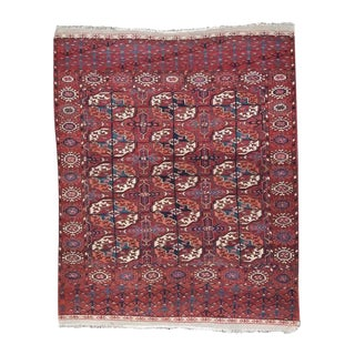 "Antique Turkmen ""Wedding"" Rug For Sale"