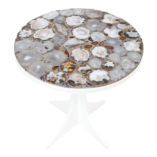 Miriam Rogers Mosaic and Acrylic Table For Sale