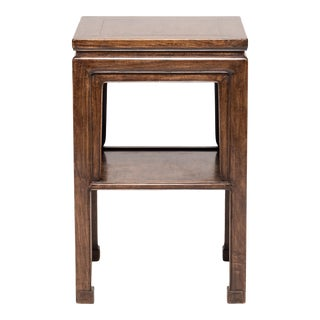 Chinese Huanghuali Display Table With Shelf For Sale