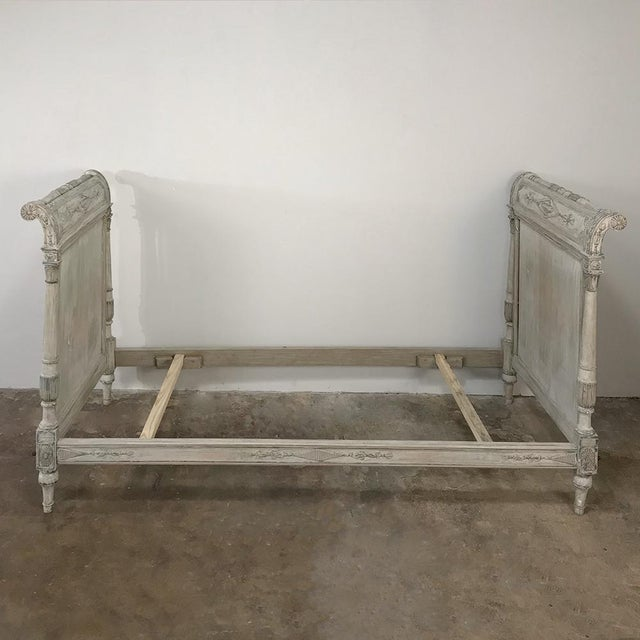 Wood 19th Century Painted Directoire Day Bed For Sale - Image 7 of 13