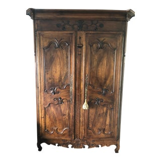 Louis XV French Country Armoire