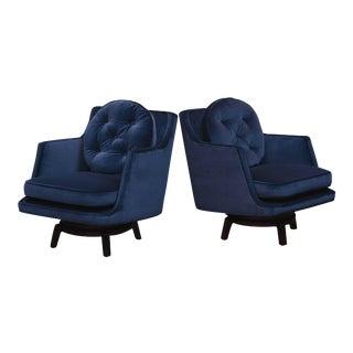 Dunbar Swivel Lounge Chairs For Sale