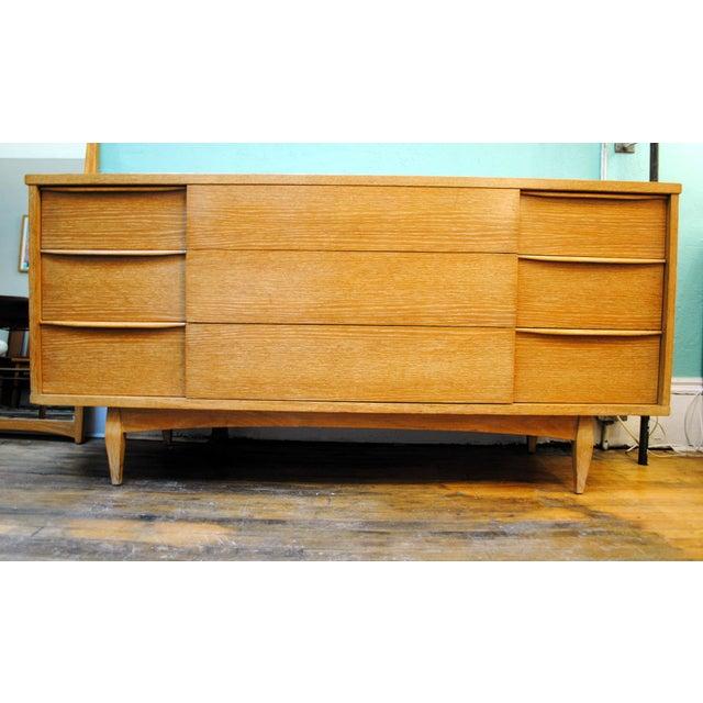 "Mid-Century Kent Coffey ""Escort"" 9-Drawer Dresser For Sale - Image 9 of 9"