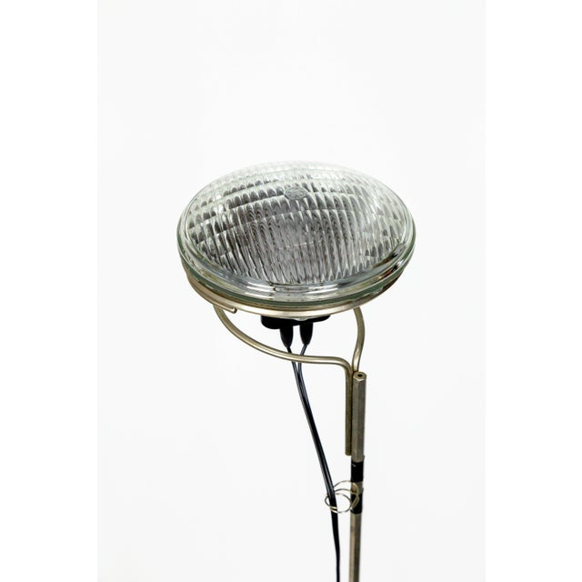 Metal Castiglioni Toio Industrial Black Floor Lamp by Flos For Sale - Image 7 of 13