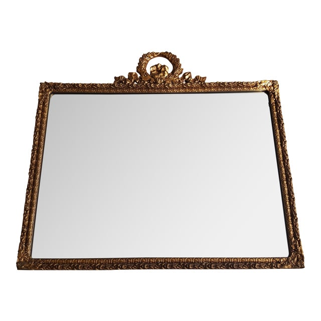 Louis XVI Style Gold Gilt Mirror - Image 1 of 6