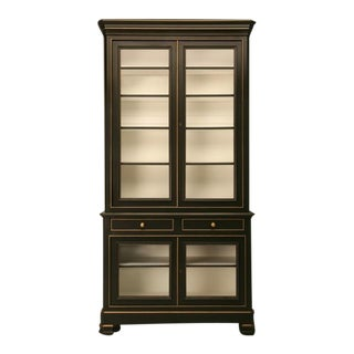 Louis Philippe Bibliotheque/Cabinet For Sale