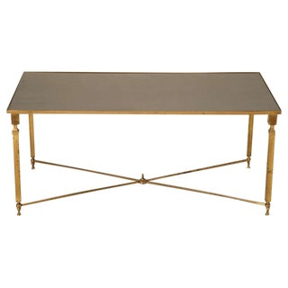 French Mid-Century Modern Coffee Table, circa 1940s For Sale