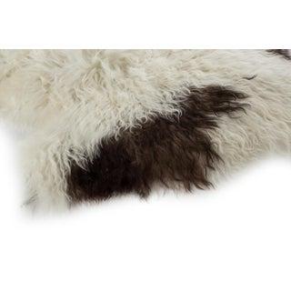 """Contemporary Long Wool Sheepskin Pelt/Handmade Rug 2'0""""x3'0"""" Preview"""