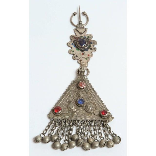 Metal Vintage Moroccan Fibula For Sale - Image 7 of 7