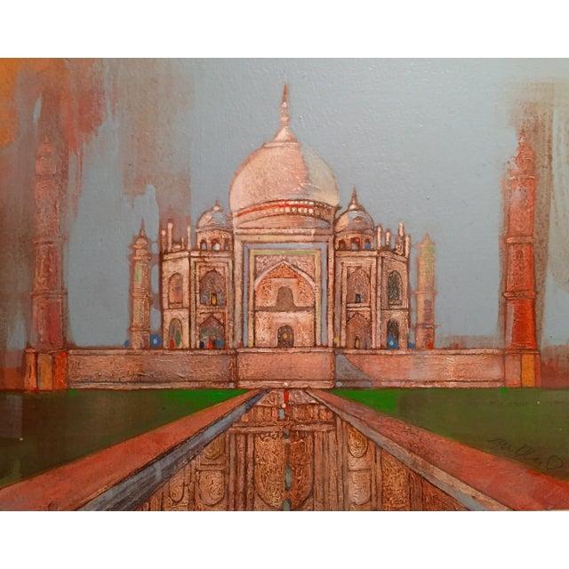 Taj Mahal Watercolor - Image 1 of 2