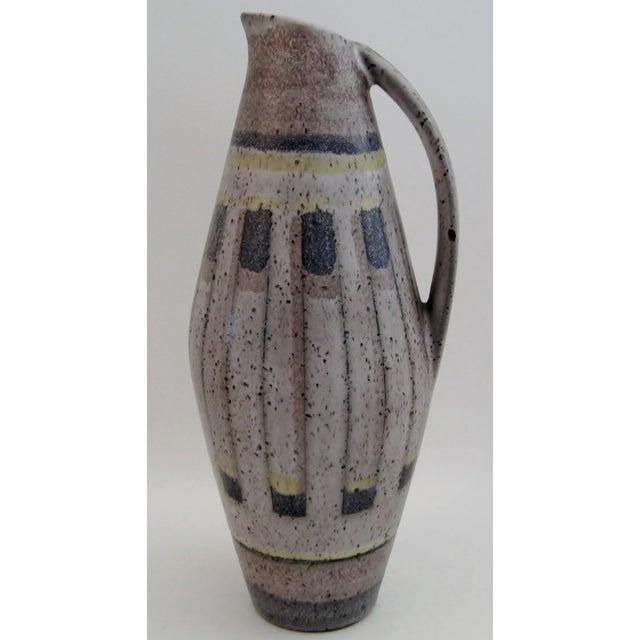 West German Ceramic Vase For Sale - Image 4 of 6