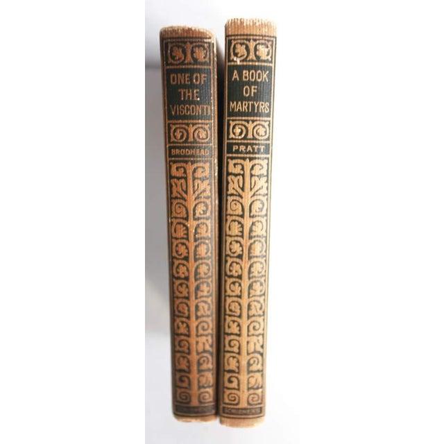 Vintage Decorative Books - Pair - Image 3 of 3