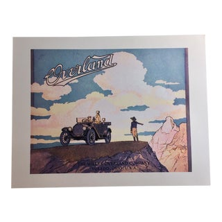 1920 Willys Jeep Ad Digital Print For Sale