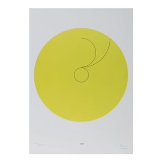 "Max Bill, ""Constellations Xvi"", Geometric Lithograph For Sale"