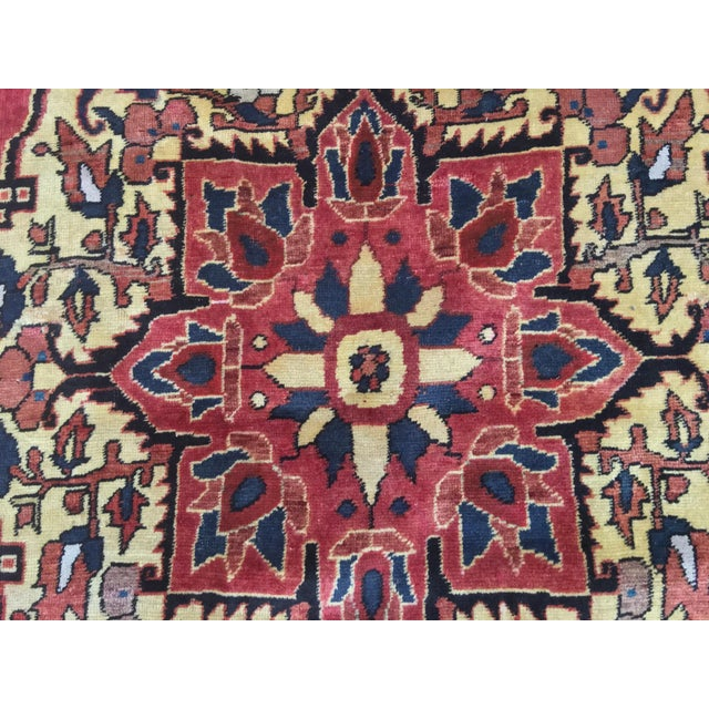 Vintage Turkaman Turkish Rug - 5′ × 8′2″ - Image 7 of 11