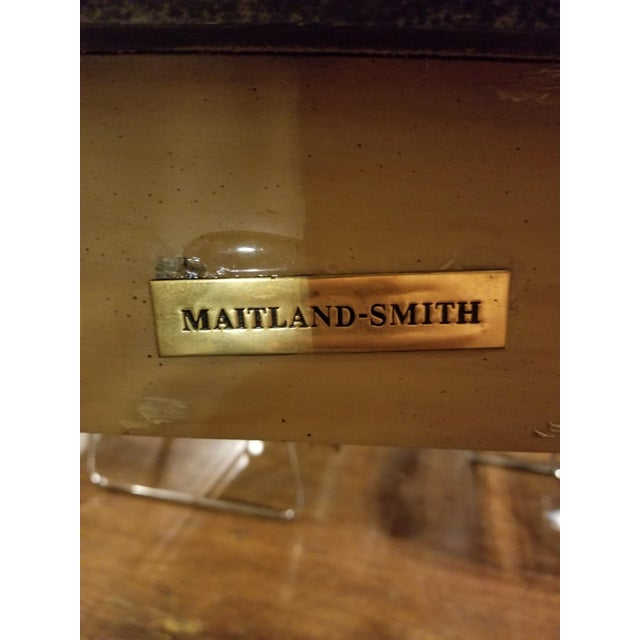 Maitland-Smith Vintage Console Table For Sale - Image 5 of 11