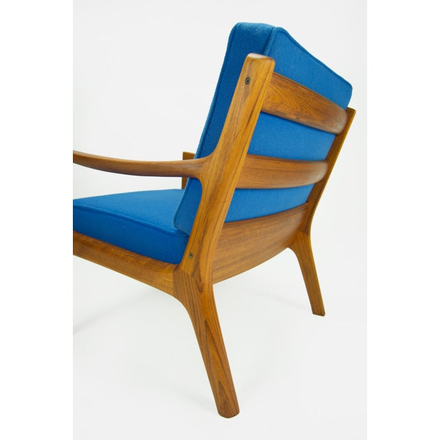 Ole Wanscher for France & Son 'Senator' Armchair For Sale In New York - Image 6 of 13
