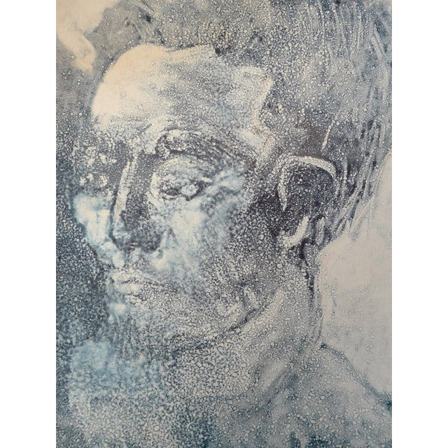 """Picasso"" Original Contemporary Mono Print - Image 2 of 3"