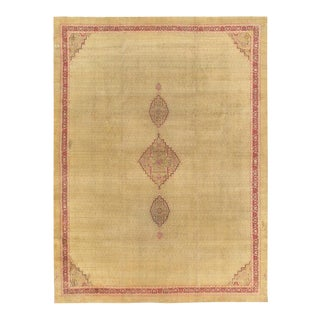 Pasargad Home Amritsar Lamb's Wool Area Rug - 9′9″ × 13′2″ For Sale